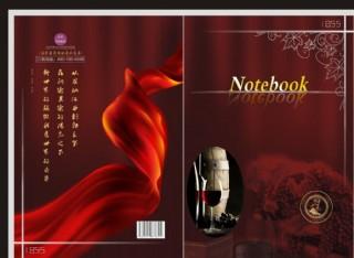 紅酒 葡萄酒書籍封面設計圖片