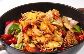 干鍋蟹圖片