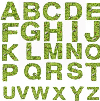 時尚字母流行元素