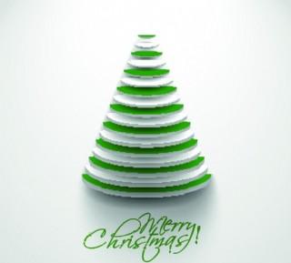 抽象圣誕樹圖片
