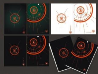 炫酷五角星筆記本封面圖片