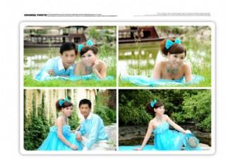 婚紗模版圖片