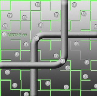 金属管道特效图片