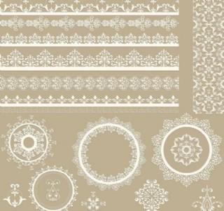欧式花纹 剪纸花纹图片