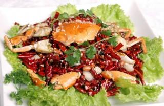 香辣蟹 蟹圖片