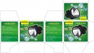 led彩盒包裝圖片